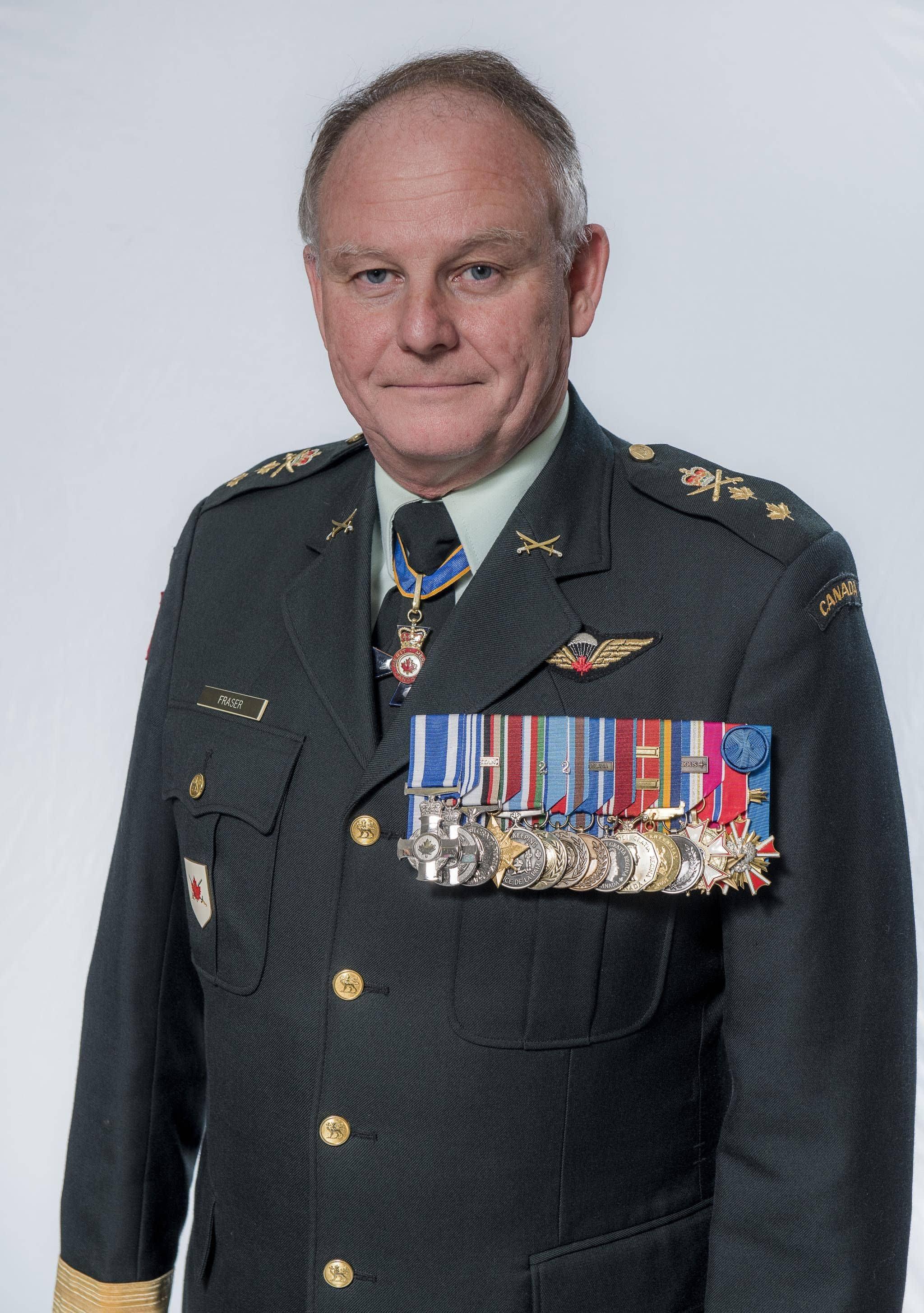 Leadership speaker major general david fraser ret canadian forces - Canadian speakers bureau ...